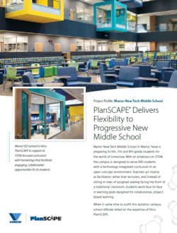 PlanSCAPE Delivers Flexibility to Progressive New Middle School PNG