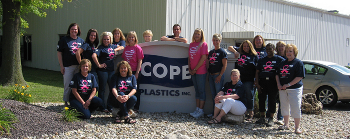 Cope Plastics Race for the Cure