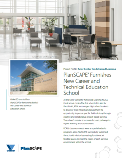 Learn how PlanSCAPE Furnishes New Career and Technical Education Schools
