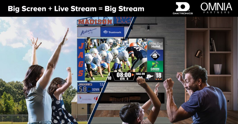 Daktronics big stream
