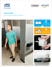 Tork High Capacity Bath Tissue Dispensing system
