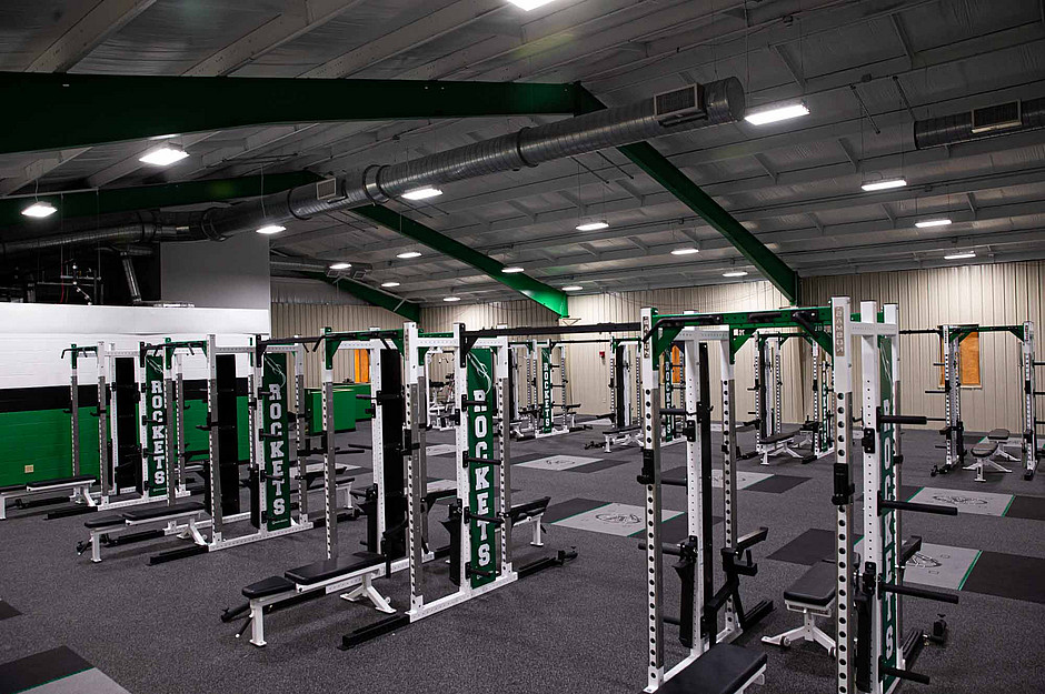 Samson Equipment in Anna Highschool Weight Room