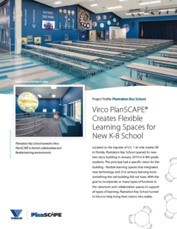 Virco Plantation Key School Project