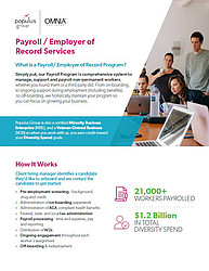 Populus Group Payroll Flyer
