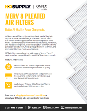 HD Supply Merv 8 Air Filters