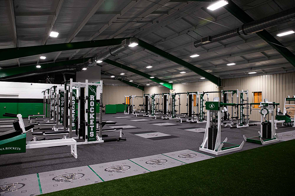 Samson Equipment Weight Room at Anna Highschool