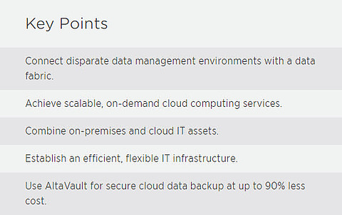 NetApp Key Points Hybrid Cloud