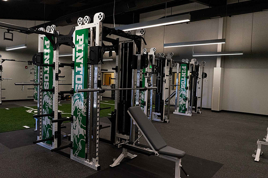 Samson Equipment Weight Room at Moriarty Highschool