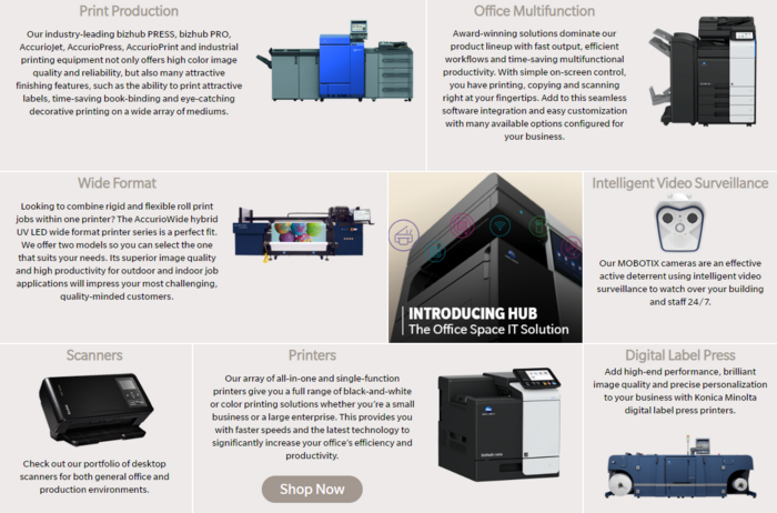 Konica Technology Products