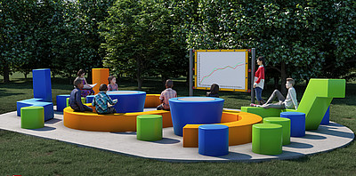 Kompan Playground Solutions Outdoor Classroom