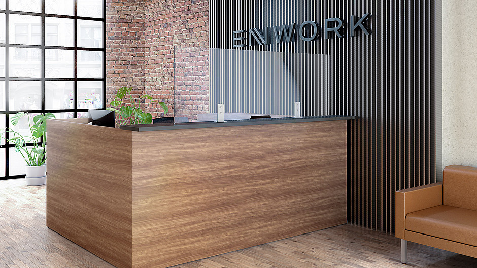 Enwork Skyline Reception Image