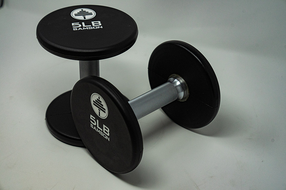 Samson Equipment Set of 5 Pound Dumbbells