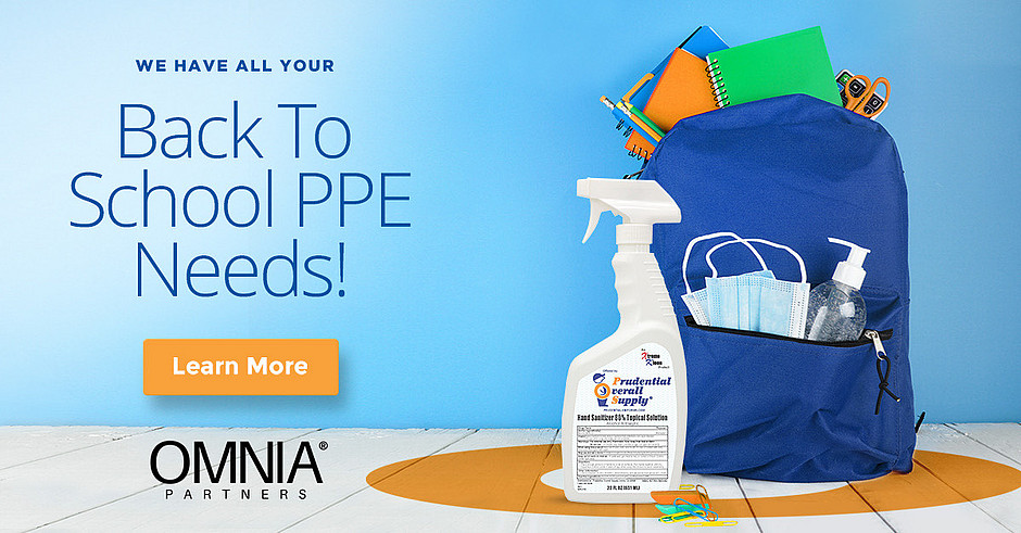 Prudential Has All of Your Back To School PPE Needs