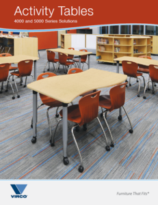 Virco Collaboration Tables for Primary Education Product Offerings