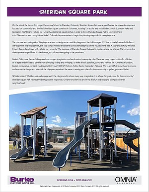 Fort Logan Elementary School New Parks & Recreation Development