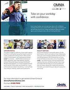 Take on your workday with Cintas Uniform Rental Service