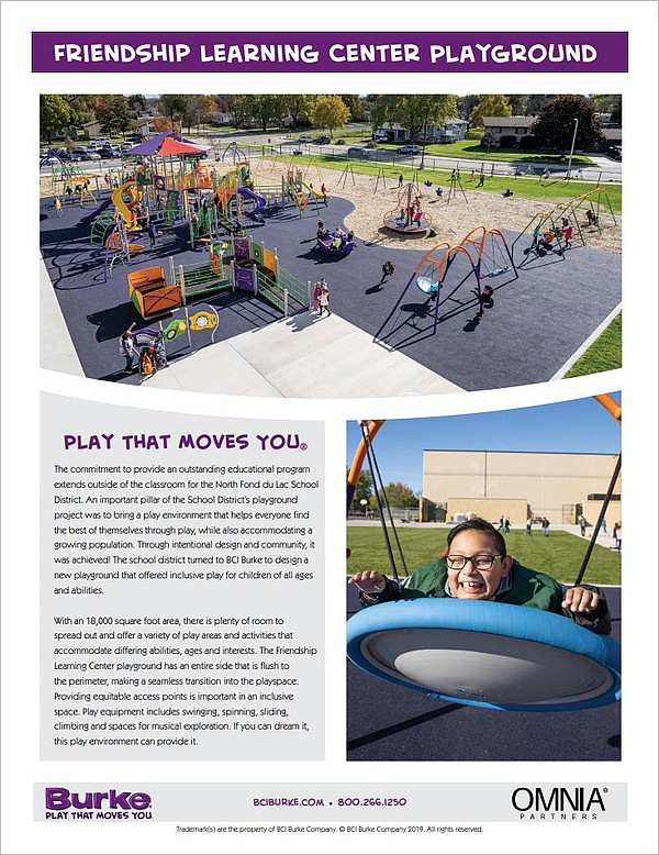 Friendship Learning Center Playground Case Study