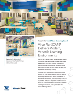 Virco PlanScape Delivers Modern, Versatile Learning Environments