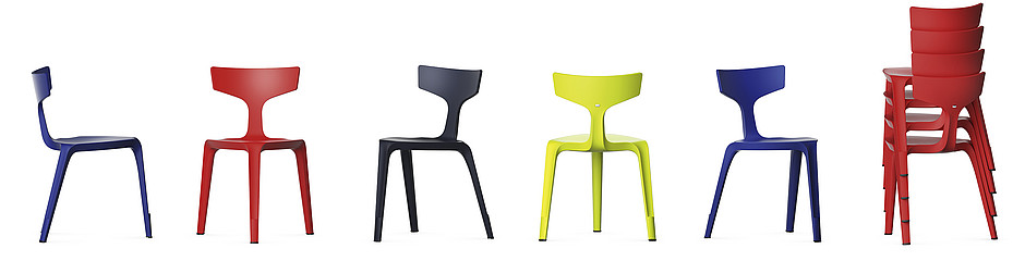 Stakki the New Inddor & Outdoor Chair