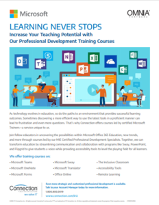 Increase Your Teaching Potential with Microsoft's Professional Development Training Courses