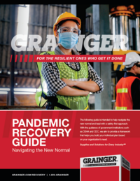 Grainger Pandemic Recovery Guide