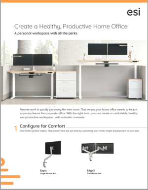 ESI Creating a Healthy and Productive Home Office