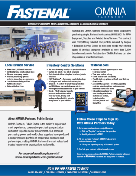 omnia partners fastenal overview flyer