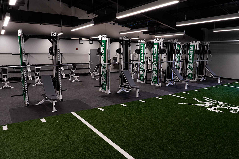 Samson Equipment in Moriarty High School Weight Room