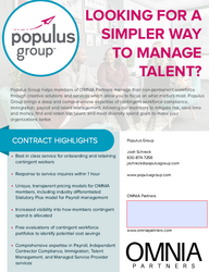 Populus Group Overview Flyer