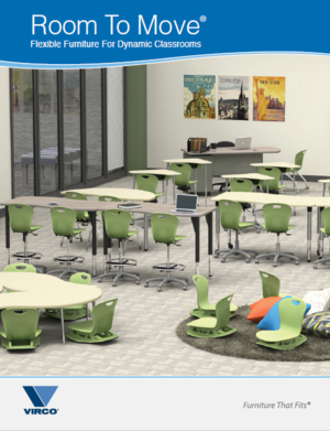 Virco Room To Move Flexible Classroom Furniture for Dynamic Classrooms