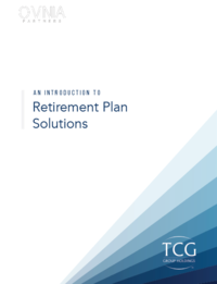 Retirement Plans Brochure