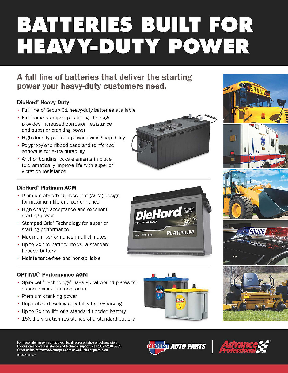 advance auto hd battery flyer
