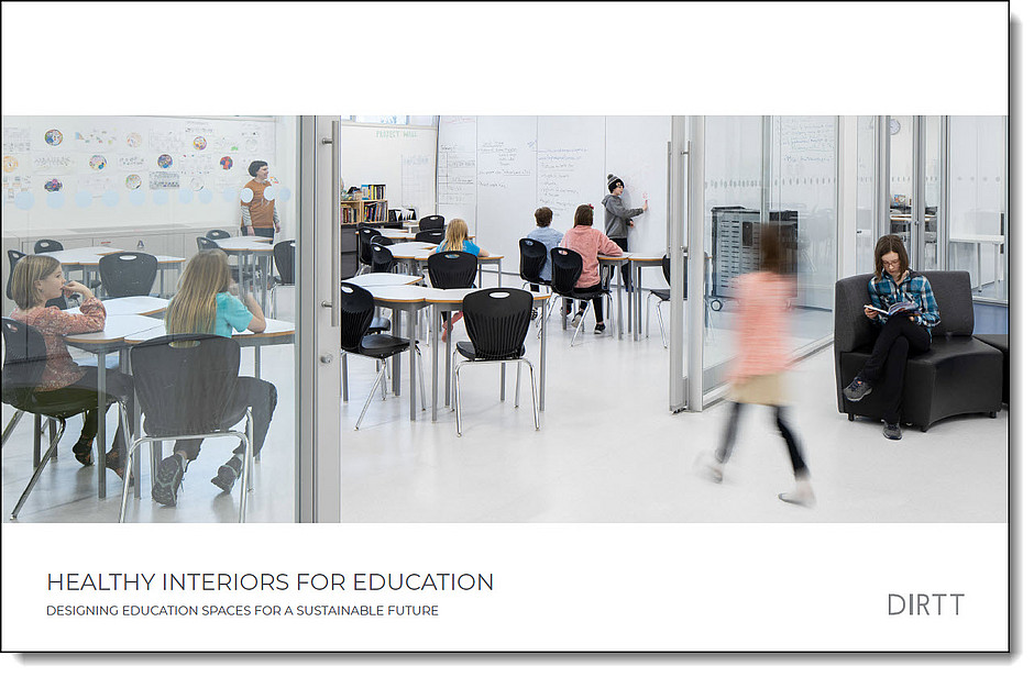 DIRRT Healthy Interiors for Education Flyer