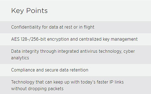 NetApp Key Points Cybersecurity