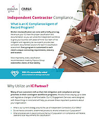 Populus Group ICC Compliance Flyer