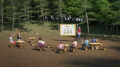 Kompan Outdoor Learning Trail