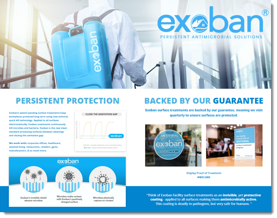 Exoban Web Brochure