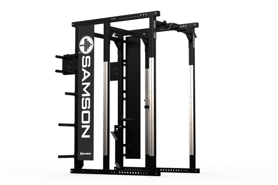 Samson Equipment Power Weight Room Rack