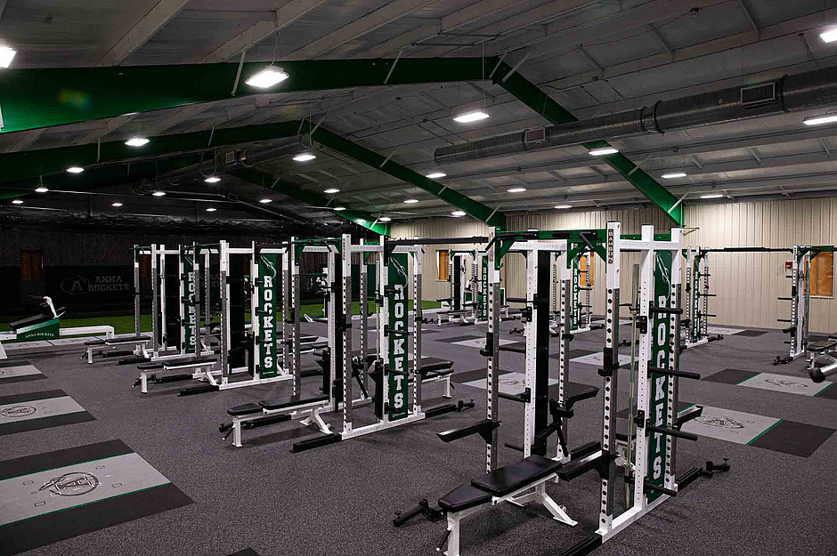 Samson Equipment Anna Highschool Weight Room