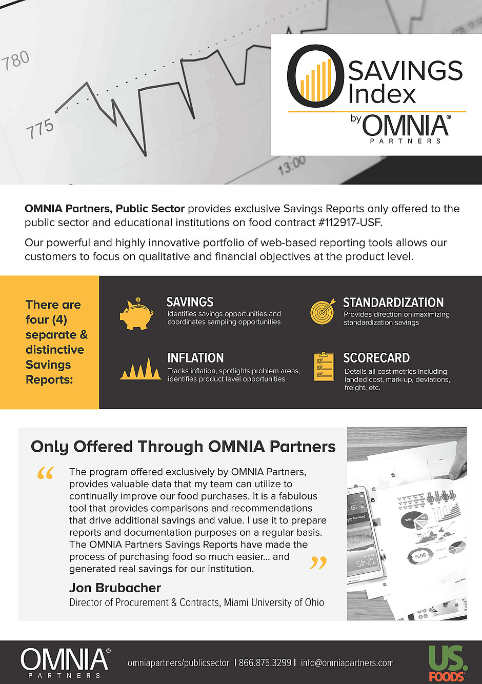 omnia partners savings index for us foods customers