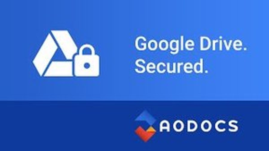 Google Drive Secured With AODocs