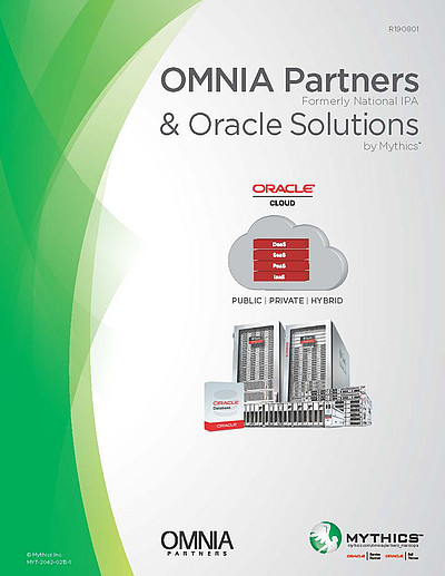 OMNIA Partners & Oracle Solutions by Mythics Contract Brochure