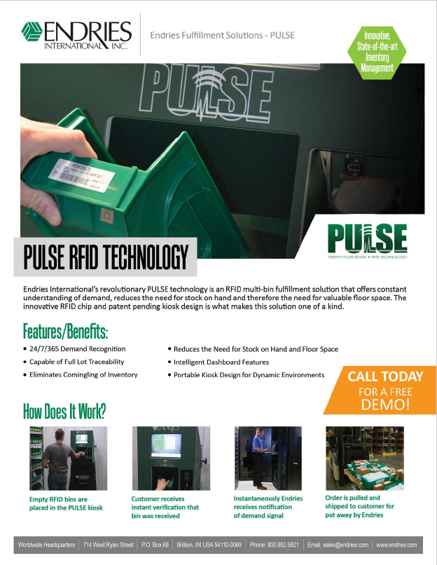 Endries Pulse solutions
