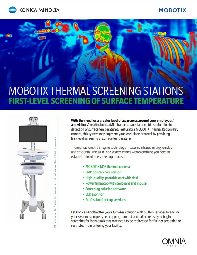 Mobotix Thermal Screening