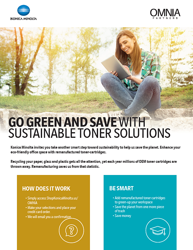 go green and save