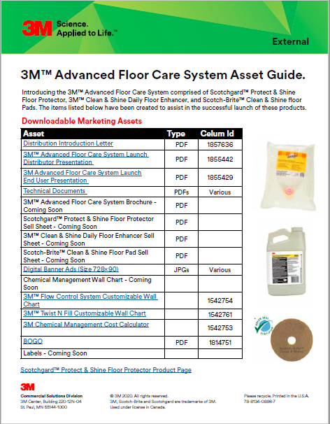 Advanced Floor Care Products