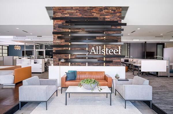 Allsteel, challenging the smart office furniture solutions