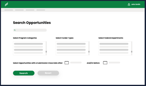 search opportunities