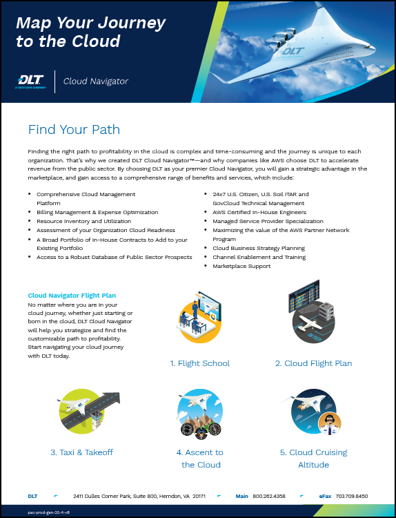 DLT Cloud Navigator, gain a strategic advantage in the marketplace