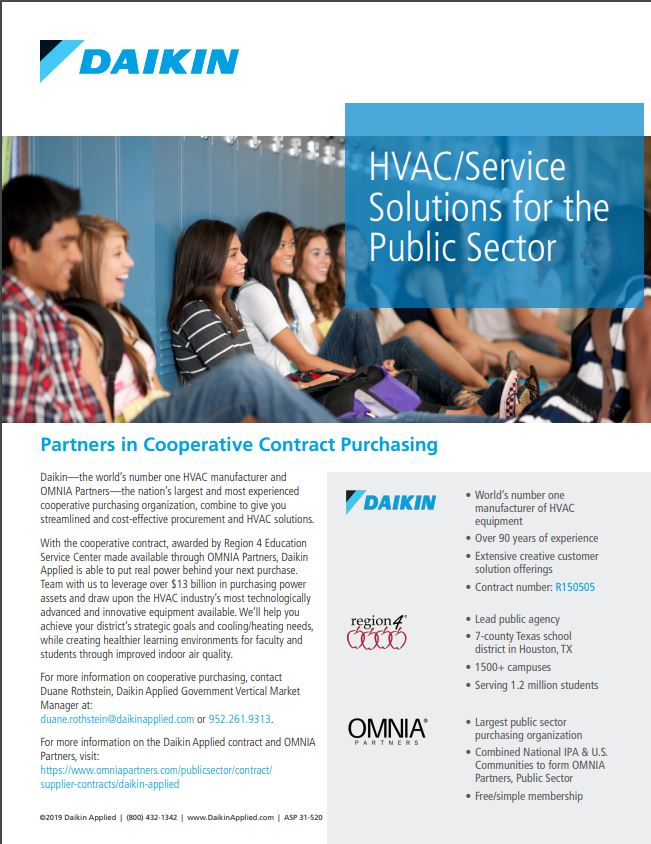 Daikin, the world's leader in HVAC manufacturing and service solutions